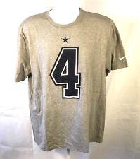 Nike Dak Prescott 4 NFL Mens XL X-Large T-Shirt Football Athletic Dallas Cowboys