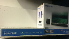 Samsung HW-J355 2.1 Channel 120 Watt Wired & Bluetooth Soundbar OPEN BOX NEW!