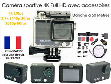 "Camera sportive ultra HD 4K type gopro Wifi angle 170° écran 2.0"" sport action"