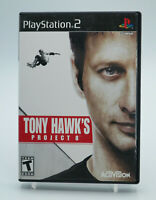 Tony Hawk's Project 8 PlayStation 2 PS2 Game W/Manual Tested Free Shipping
