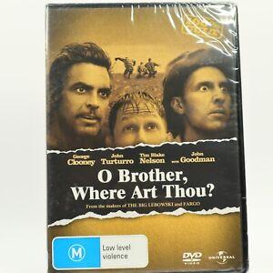 O Brother Where Art Thou John Goodman George Clooney DVD New Sealed