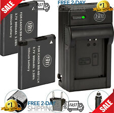 NB-11L/NB-11LH Battery (2-Pack) And Charger Kit For Canon PowerShot ELPH 190 Is,