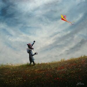 DANNY ABRAHAMS - WINDY CONDITIONS - ORIGINAL - IN STOCK FOR IMMEDIATE DISPATCH