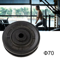 70/90/105mm Universal Bearing Pulley Mercy Wheel Gym Fitness Exercise Equipment