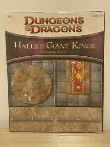 HALLS OF THE GIANT KINGS DU1 Dungeon Tiles New Sealed Dungeons & Dragon D&D WotC