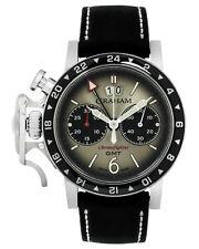 Graham Chronofighter Vintage GMT Chronograph Automatic Men's Watch 2CVBC.S07A