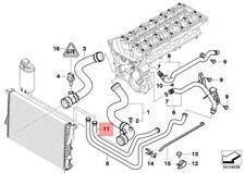 Genuine Engine Thermostat Water Hose BMW E38 E39 520i 523i 2.4 525i 11531438632