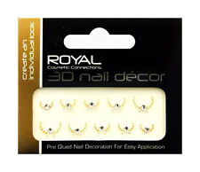 ROYAL NAIL ART 3D NAIL DECOR DESIGN STICKER CRAFT FOR NAILS