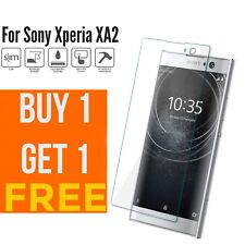 100% Genuine Tempered Glass screen protector For Sony Xperia XA2