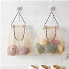 Vegetable Onion Potato Hanging Bag Kitchen Garlic Ginger Mesh Storage Bag LG