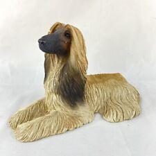 Sandicast Vintage 1988 Afghan Blonde Hound Dog Statue Figurine 10� Sandra Brue