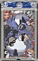 🔥🔥 Batman 50 signed N Sketch unknown Variant EGS 9.8 not CGC wedding catwoman