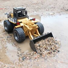 Remote Control Front Loader Tractor Electric Rc Bulldozer Truck 6Ch Toy Vehicle