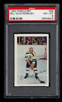 1952 Parkhurst #68 Bill Quackenbush PSA 8 Bruins