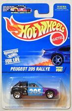 HOT WHEELS 1997  PEUGEOT 205 RALLYE #507