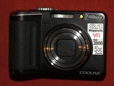 Nikon Coolpix P60 camera 8.1 MegaPixel MP 5 x Zoom with case