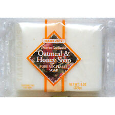 Trader Joe's Next to Godliness Oatmeal & Honey Soap 4oz - Pack of 2 (One Pack...