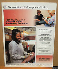 National Certified Phlebotomy Technician NCCT Official Review Book (2014, Soft)