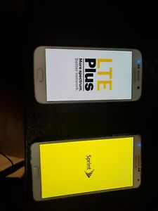 Samsung Galaxy S6 Sprint White (NOTE FPR ISSUE SEE Description)  + GALAXY NOTE 3