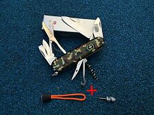 Victorinox Swiss Army Climber Knife Camo Handle + 2 Gift