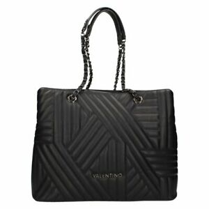 Valentino Bags by Mario Valentino Signoria Quilted Tote Black Large