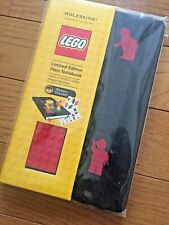 Lego Block & Moleskine Notebook Limited Edition W/ Stickers