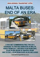 Malta Buses End Of An Era, 2 DVD Set Commemorating The Changes In 2011.