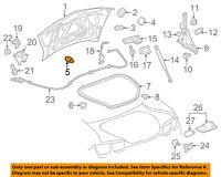 Chevrolet GM OEM 10-15 Camaro Trunk Lid-Bumper 92231413