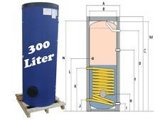 Solarspeicher Trinkwasserspeicher Warmwasserspeicher Pufferspeicher 300 Liter