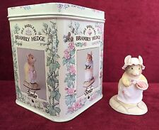 Border Fine Arts Brambly Hedge  - BH25 Mrs Crustybread  In Original Tin
