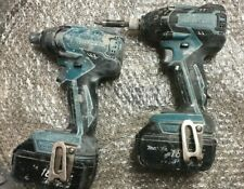 2 X MAKITA DTD129 BRUSHLESS 18 V Impact Driver 2 x piles AFFAIRE DEAL