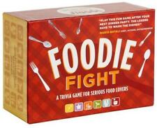 Foodie Fight: A Trivia Game for Serious Food Lovers, Lock, Joyce, Good Book
