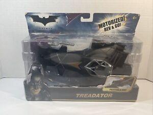 Mattel - BATMAN - Treadator - Motorized Rev And Go - NEW & SEALED HEAVY WEAR