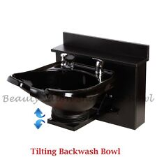 Tilting Shampoo Bowl Sink Shampoo Cabinet Salon Spa Equipment TLC-B13WT-BC16