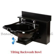 Tilting Shampoo Bowl Sink Shampoo Cabinet Salon Spa Equipment Tlc-B13Wt-Bc16