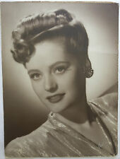 Alexis Smith Large Format 20x15 Signed Studio Publicity Photograph Photo Board