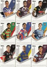 2018 NRL TRADERS FACES OF THE GAME TRADING CARDS - FULL SET 64 CARDS