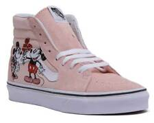d46f8c5d9eb7ac VANS Disney Mickey Minnie Mouse Sk8 High Pink Suede Shoes SNEAKERS US  SELLER 8.5