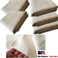 5 PACK HEAVY DUTY COTTON TWILL DUST SHEETS  LOWEST PRICE - STOCK CLEARANCE. MBT