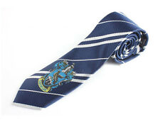New Harry Potter Ravenclaw House Cosplay Costume Necktie Silk Tie