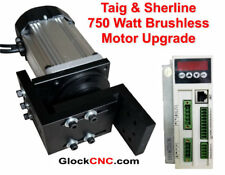 Sherline Or Taig Lathe Mill Brushless Spindle Motor Upgrade 1hp 750 Watts