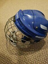 Bauer Hh4Oo0M Hockey Helmet & Matching True Vision Cage Medium