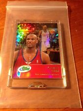 LAMAR ODOM 2001 eTopps Refractor Card In Hand 1 of 497 LA Clippers Lakers