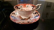 Royal Stafford Hand Painted Tea Cup And Saucer