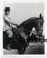 POLLY MORRISEY Circus Performer Horseman Ringling Bros Barnum Big Top Acrobat