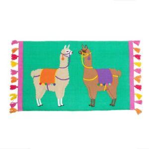 Lima Llama Rug