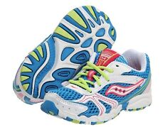Saucony Girls Lace Sneakers Blue/Pink/White Size 13 M