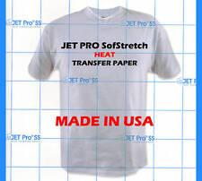 Inkjet Jet Pro SS Soft Stretch Transfer Paper Sheets Heat Transfer Paper 9811P0