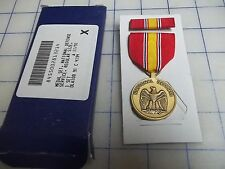 military 1991 medal set national defense service regular size NEW ribbon army