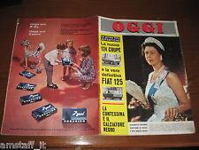 OGGI 1967/9=QUEEN ELIZABETH=LORENZO BANDINI=SONNY CHER=POLLA=GIOVANNA AUGUSTA=